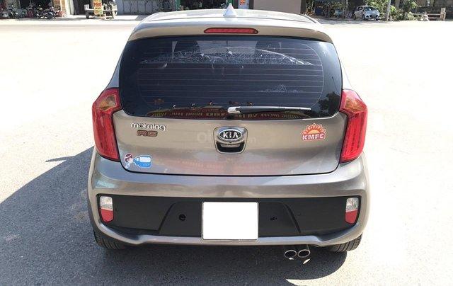 Bán xe Kia Morning 1.0AT Sport sản xuất 2012, màu xám, xe nhập, form mới, full kịch đồ24