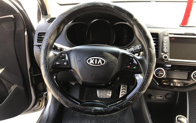 Bán xe Kia Morning 1.0AT Sport sản xuất 2012, màu xám, xe nhập, form mới, full kịch đồ5