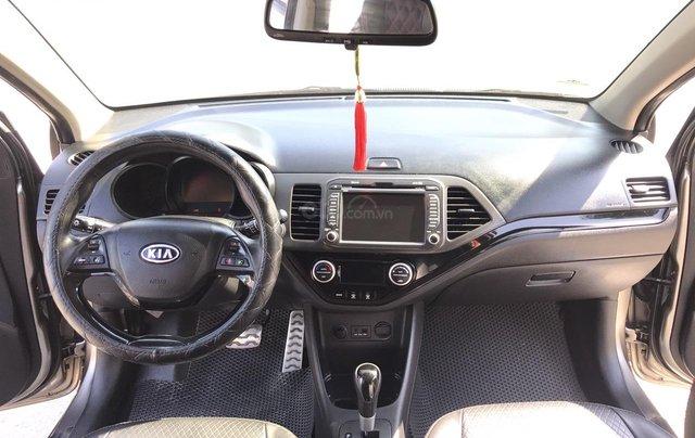Bán xe Kia Morning 1.0AT Sport sản xuất 2012, màu xám, xe nhập, form mới, full kịch đồ4