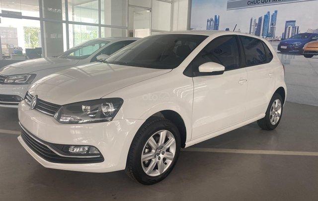 Bán Volkswagen Polo Hatchback đời 2019, màu trắng, nhập khẩu nguyên chiếc, giá chỉ 695 triệu - liên hệ 03962687868