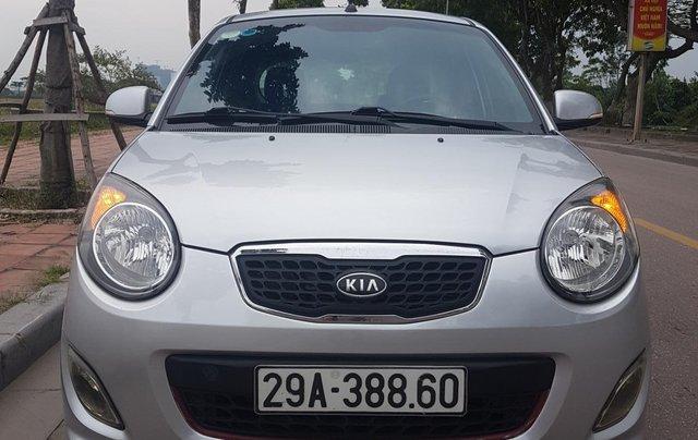 Bán Kia Morning SLX đời 2009 màu bạc, nhập khẩu0