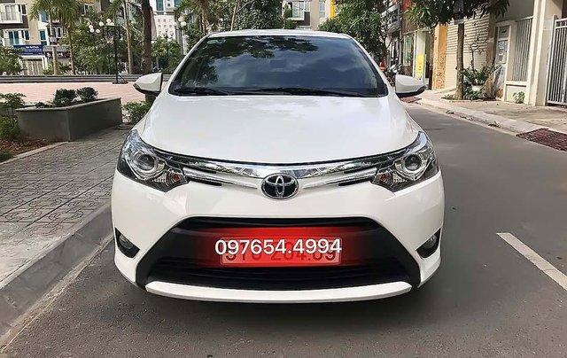Cần bán lại xe Toyota Vios sản xuất 2017, màu trắng, giá tốt0