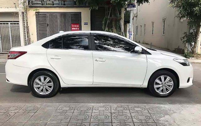 Cần bán lại xe Toyota Vios sản xuất 2017, màu trắng, giá tốt1