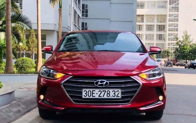 Bán Hyundai Elantra sản xuất 2016, màu đỏ, 575 triệu0