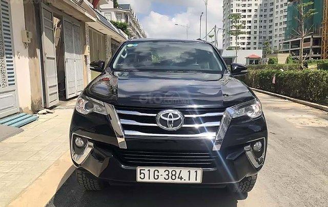 Bán Toyota Fortuner 2018, màu đen, xe nhập, số tự động1
