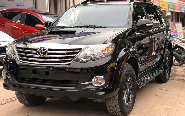 Bán Toyota Fortuner 2.5G sản xuất 2015, màu đen, giá chỉ 780 triệu0
