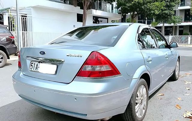 Bán Ford Mondeo 2.5 AT năm sản xuất 2003, màu xanh lam, chính chủ 1