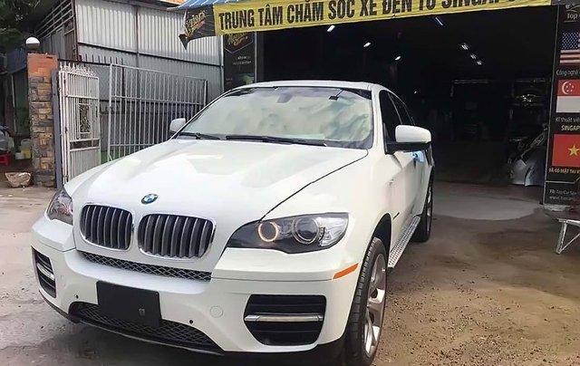 Bán BMW X6 đời 2009, màu trắng, nhập khẩu 0