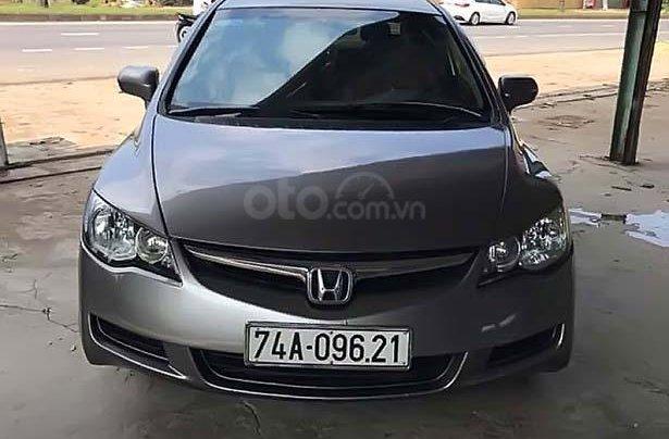 Bán Honda Civic 1.8 MT 2006, màu xám, số sàn0