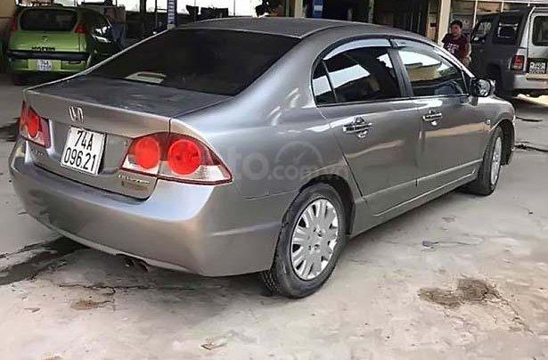 Bán Honda Civic 1.8 MT 2006, màu xám, số sàn1