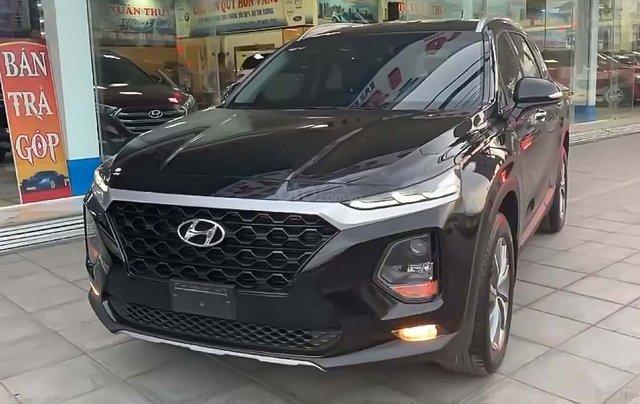 Bán xe cũ Hyundai Santa Fe 2.4AT sản xuất 2019, màu đen0