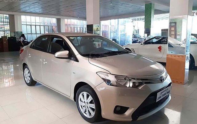 Bán Toyota Vios 1.5E sản xuất năm 2014, màu bạc0