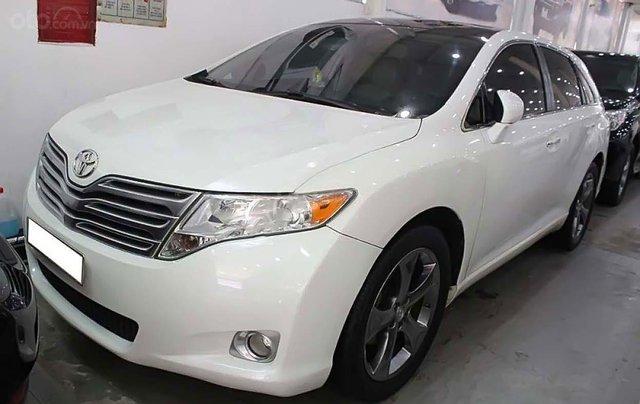 Bán xe Toyota Venza 3.5 2010, màu trắng, nhập khẩu  0