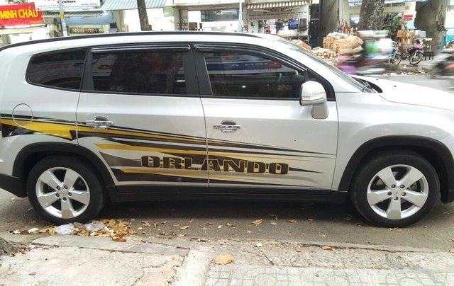 Bán Chevrolet Orlando LTZ đời 2016, màu bạc, chính chủ sử dụng, liên hệ 0913992465 Thanh2