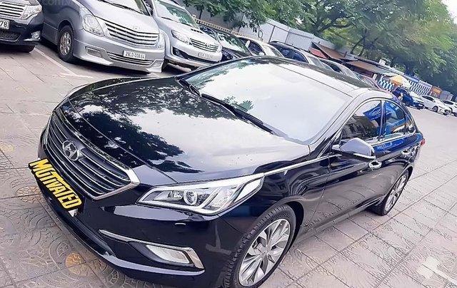Bán xe Hyundai Sonata 2.0AT đời 2014, màu đen, nhập khẩu 0