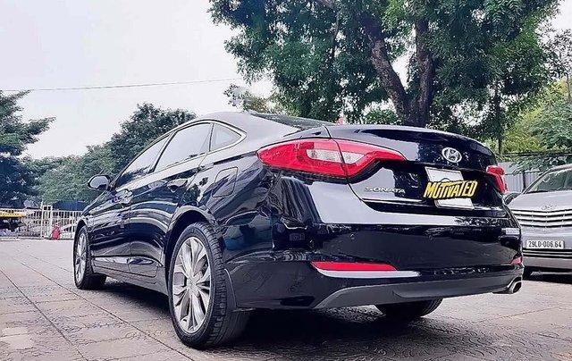Bán xe Hyundai Sonata 2.0AT đời 2014, màu đen, nhập khẩu 1