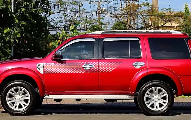 Cần bán xe cũ Ford Everest 2.5L 4x2 AT năm sản xuất 2015, màu đỏ0