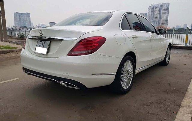 Bán xe cũ Mercedes C250 Exclusive đời 2015, màu trắng1