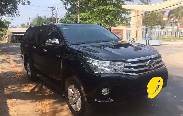 Cần bán Toyota Hilux đời 2016, màu đen, xe nhập, giá tốt0