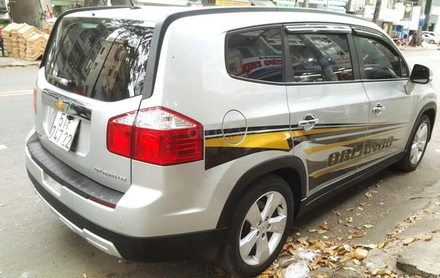 Bán Chevrolet Orlando LTZ đời 2016, màu bạc, chính chủ sử dụng, liên hệ 0913992465 Thanh4