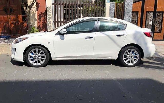 Bán Mazda 3 S 1.6 AT năm sản xuất 2014, màu trắng như mới1