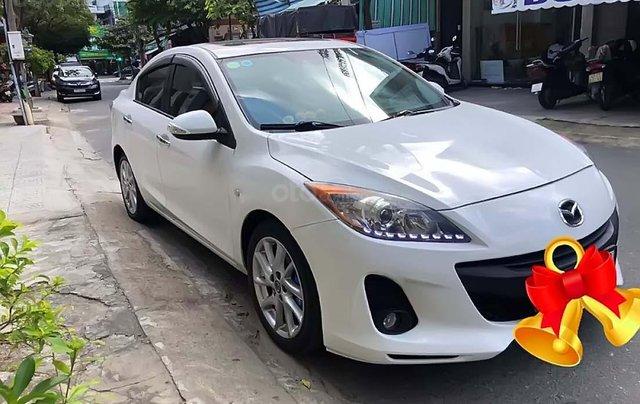 Bán Mazda 3 S 1.6 AT năm sản xuất 2014, màu trắng như mới0