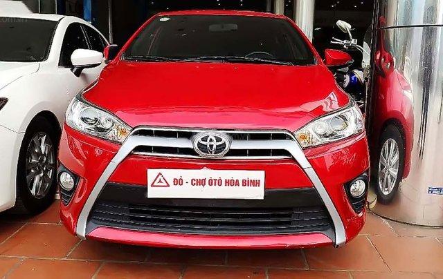 Bán Toyota Yaris 1.5G đời 2017, màu đỏ, xe nhập  0