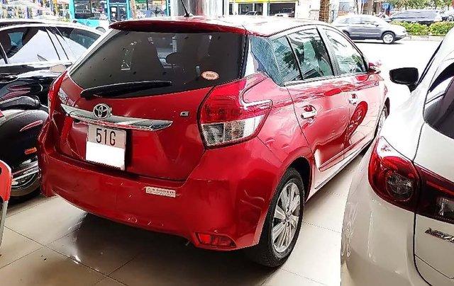 Bán Toyota Yaris 1.5G đời 2017, màu đỏ, xe nhập  1