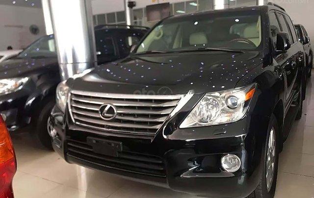 Cần bán Lexus LX 570 năm sản xuất 2009, màu đen, xe nhập 0