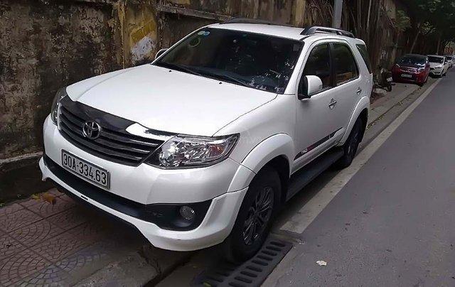 Bán xe Toyota Fortuner đời 2014, màu trắng, nhập khẩu0