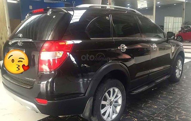 Cần bán Chevrolet Captiva LT 2.4 MT đời 2008, màu đen, 235tr1