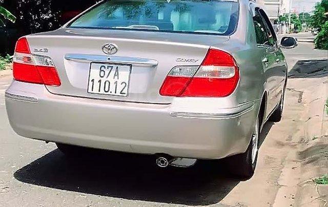 Cần bán lại xe Toyota Camry 2.4G 2003, giá 345tr1
