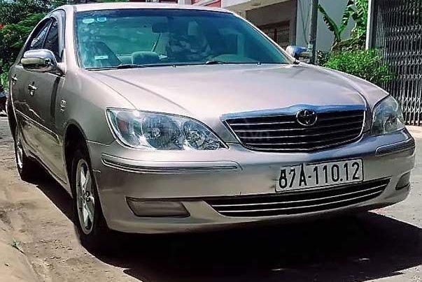 Cần bán lại xe Toyota Camry 2.4G 2003, giá 345tr0