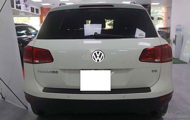 Cần bán Volkswagen Touareg 3.6 AT đời 2013, màu trắng, nhập khẩu1
