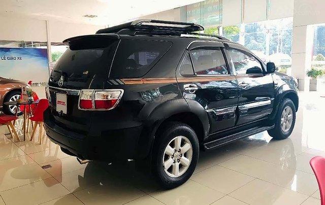 Cần bán lại xe Toyota Fortuner V 2.7AT sản xuất 2010, màu đen chính chủ 1