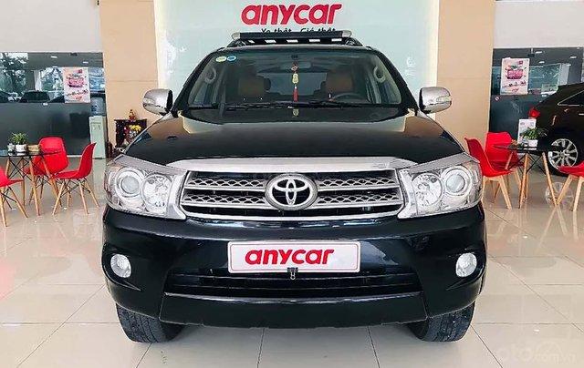 Cần bán lại xe Toyota Fortuner V 2.7AT sản xuất 2010, màu đen chính chủ 0