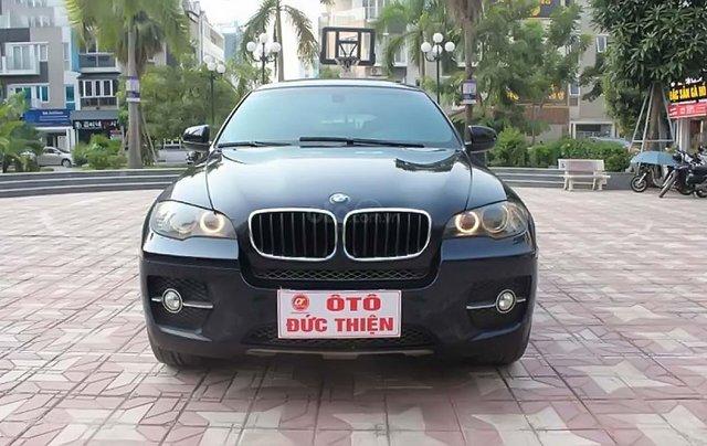 Cần bán gấp BMW X6 xDrive35i 2009, màu xanh lam, xe nhập chính chủ, giá tốt0