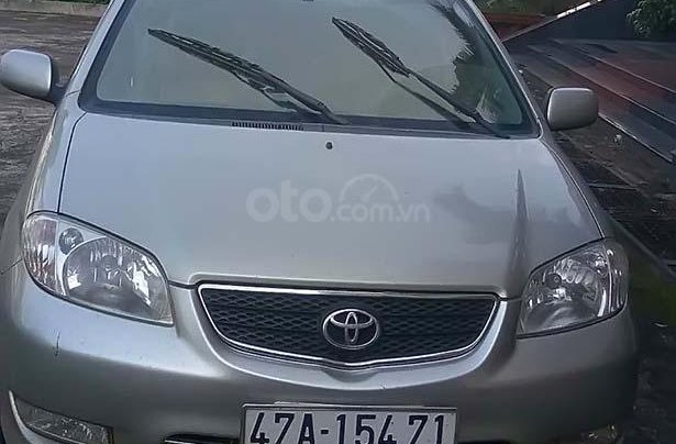 Xe Toyota Vios năm sản xuất 2005, màu bạc, nhập khẩu0