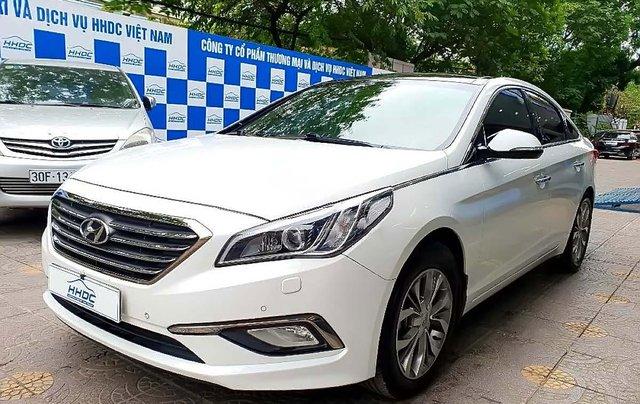 Bán Hyundai Sonata 2.0AT đời 2015, màu trắng, nhập khẩu nguyên chiếc0