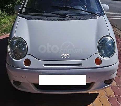 Cần bán xe cũ Daewoo Matiz SE 0.8 MT đời 2004, màu trắng, số sàn0