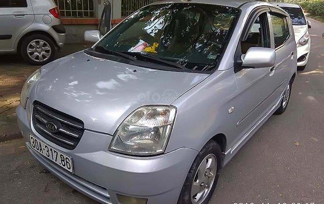 Bán Kia Morning LX 2007, màu bạc, nhập khẩu chính chủ0