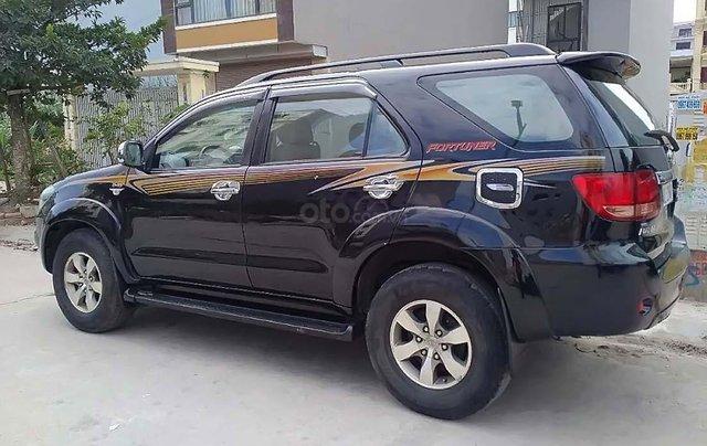 Bán Toyota Fortuner 2.5 AT sản xuất năm 2008, màu đen, nhập khẩu Thái 1