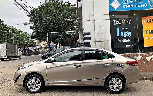 Cần bán gấp Toyota Vios 1.5G 2019, màu vàng, 549 triệu0