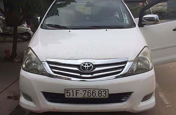 Bán ô tô Toyota Innova sản xuất năm 2007, màu trắng, 220tr1