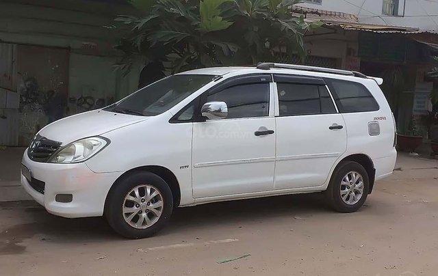 Bán ô tô Toyota Innova sản xuất năm 2007, màu trắng, 220tr0