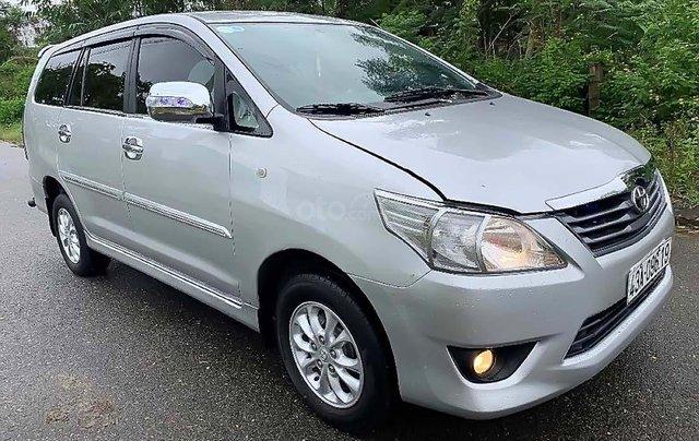 Bán ô tô Toyota Innova E 2.0 đời 2013, màu bạc như mới 0