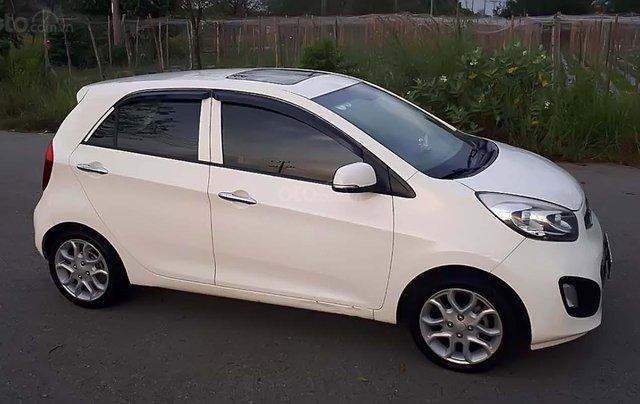 Cần bán lại xe Kia Picanto 1.25 AT 2012, màu trắng, giá 260tr0