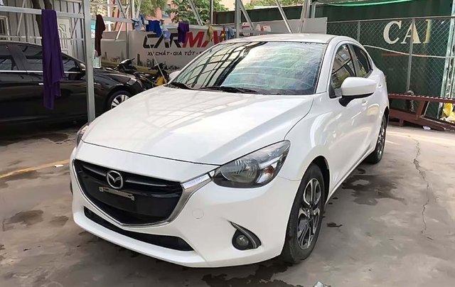 Cần bán xe Mazda 2 1.5AT đời 2017, màu trắng, giá chỉ 486 triệu0