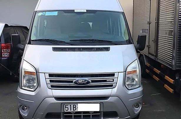 Cần bán Ford Transit sản xuất 2014, màu bạc, xe như mới0