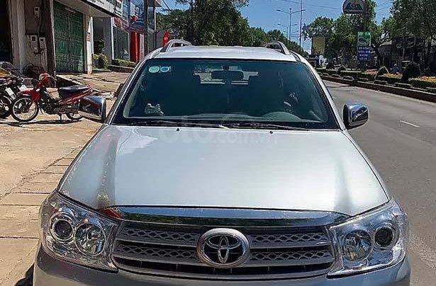 Cần bán lại Toyota Fortuner 2.5G đời 2011, màu bạc, giá chỉ 530 triệu2